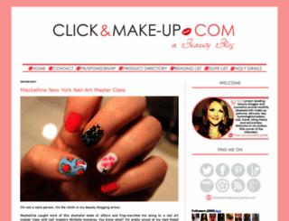 clickandmake-up.blogspot.com screenshot