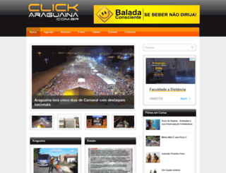clickaraguaina.com.br screenshot