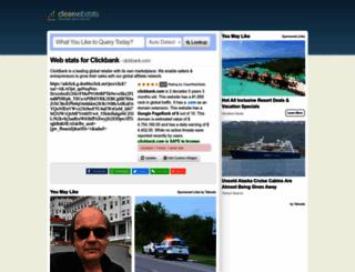 clickbank.com.clearwebstats.com screenshot