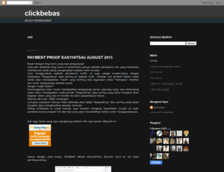 clickbebas.blogspot.com screenshot