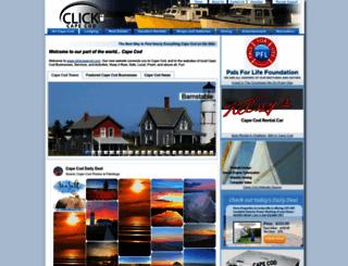 clickcapecod.com screenshot