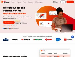 clickcease.com screenshot