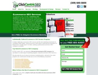 clickcentricseo.com screenshot