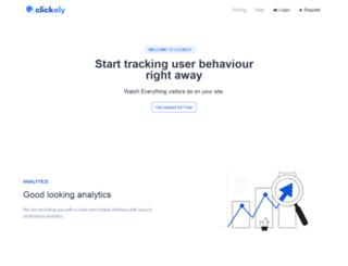 clickely.com screenshot