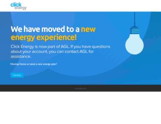 clickenergy.com.au screenshot
