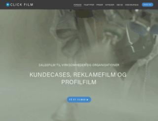 clickfilm.dk screenshot