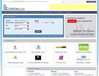 clickflats.com screenshot