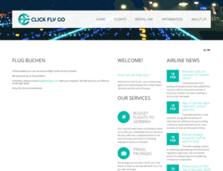 clickflygo.com screenshot