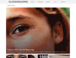 clickholding.net screenshot