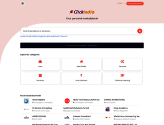 clickindia.com screenshot