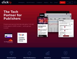 clickio.com screenshot