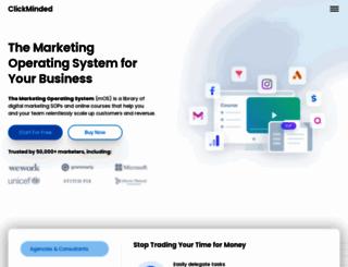 clickminded.com screenshot