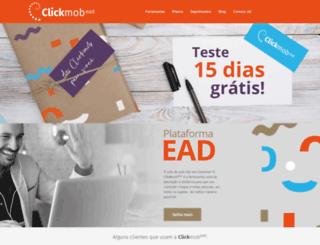 clickmob.com.br screenshot