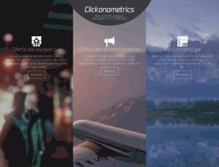 clickonometrics.pl screenshot