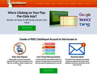 clickreport.com screenshot
