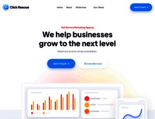 clickrescue.com screenshot