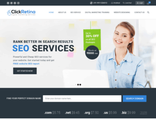 clickretina.com screenshot