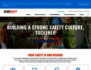 clicksafety.com screenshot