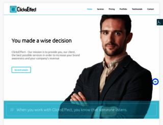 clickseffect.com screenshot