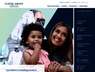 clicksgroup.co.za screenshot