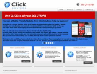 clicksolutions-it.com screenshot