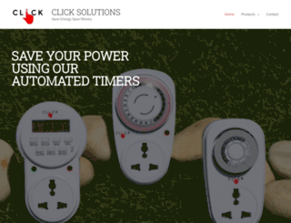 clicksolutions.co.in screenshot