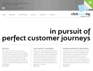 clickthinking.com screenshot