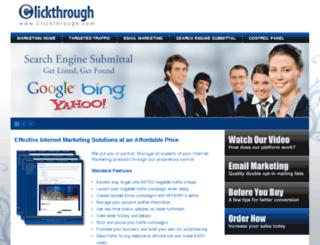 clickthrough.com screenshot