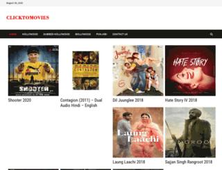 clicktomovies.com screenshot