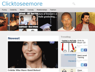 clicktoseemore.tv screenshot