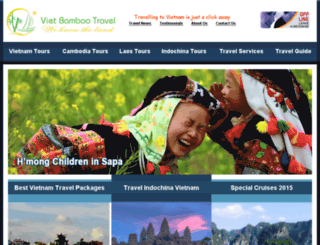 clicktovietnam.com screenshot