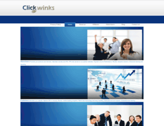 clickwinks.com screenshot