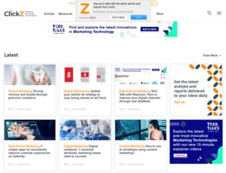 clickzintel.com screenshot