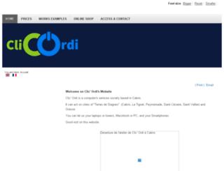 clicordi.com screenshot