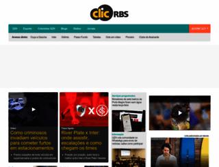 clicrbs.com.br screenshot