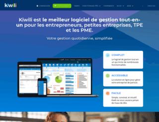 clicweb.kiwili.com screenshot