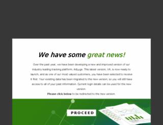 client.adluge.com screenshot