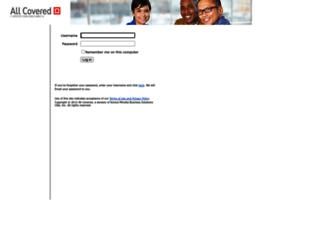 client.allcovered.com screenshot
