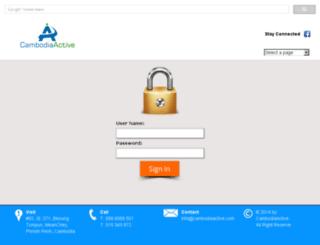 client.cambodiaactive.com screenshot
