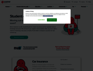client.endsleigh.co.uk screenshot
