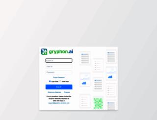 client.gryphonnetworks.com screenshot