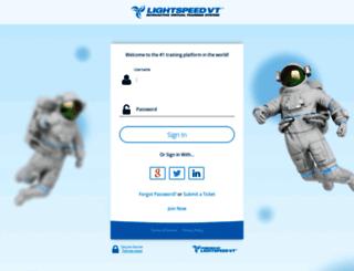 client.lightspeedvt.com screenshot