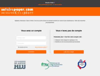 client.sefairepayer.com screenshot