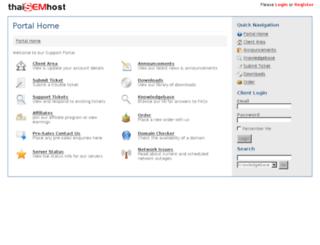 client.thaisemhost.com screenshot