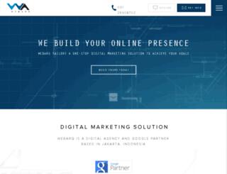client.webarq.com screenshot