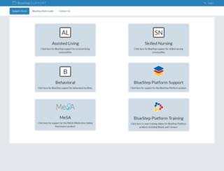 clientcare.bluestep.net screenshot