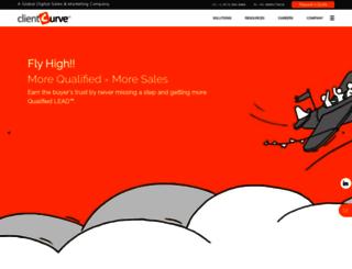 clientcurve.com screenshot