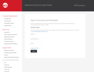 clientdownloads.acstechnologies.com screenshot