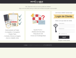 cliente.brownsugarbear.com screenshot