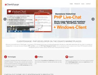 clientengage.com screenshot